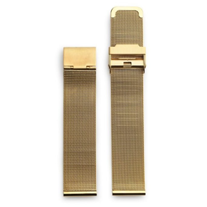 CHPO 14232AA-S Gold Metal Mesh Wristband - 20 mm