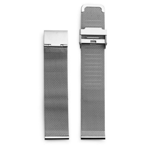CHPO 14232BB-S Silver Metal Mesh Wristband - 20 mm