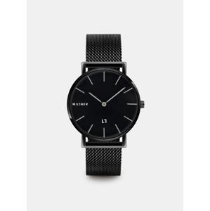 Dámské hodinky s černým nerezovým páskem Millner Mayfair