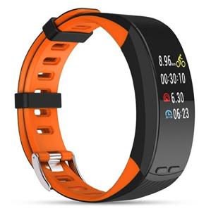 Deveroux Deveroux P5 GPS fitness náramek - oranžový - SLEVA