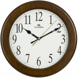 DOGENI Nástěnné hodiny s tichým chodem WNW002DB