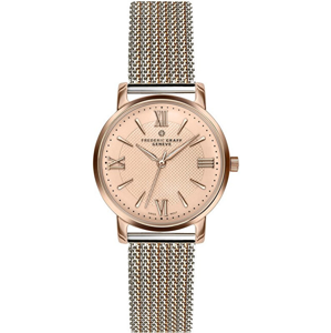 Frederic Graff Fansipan 2 tone. Steel + Rose Gold Mesh FCM-2718
