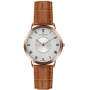 Frederic Graff Rose Grand Combin Ginger Brown Leather FAM-B002R