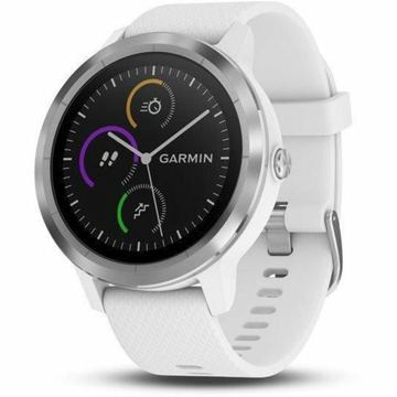 Garmin VívoActive3 Optic Silver/White band - SLEVA II