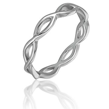 JVD Stříbrný minimalistický prsten SVLR0205XH200 62 mm