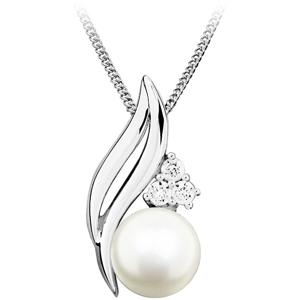 JVD Stříbrný přívěsek s pravou perlou SVLP0256SH8P100