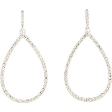 Lauren Ralph Lauren Náušnice stříbrná / průhledná