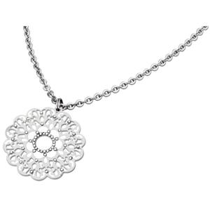 Lotus Style Slušivý ocelový náhrdelník LS1593-1/1