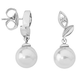 Majorica Stříbrné náušnice s perlou 12850.01.2.000.010.1