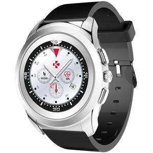 MyKronoz Hybridní hodinky ZeTime Original Silver/Black - 39mm