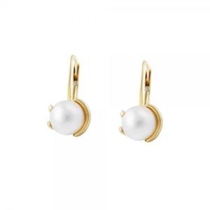 Náušnice s perlou 235-087-000151 3.75g