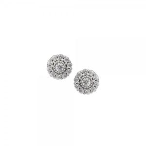 Náušnice se syntetickými kameny 336-185-000906 2.95g