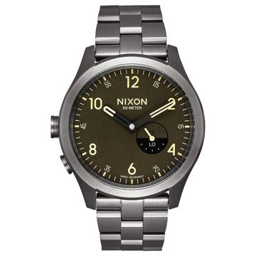 Nixon BEACON ALLGUNMETALSURPLUS analogové sportovní hodinky - černá