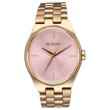 Nixon IDOL LIGHTGOLDPINK analogové sportovní hodinky - růžová
