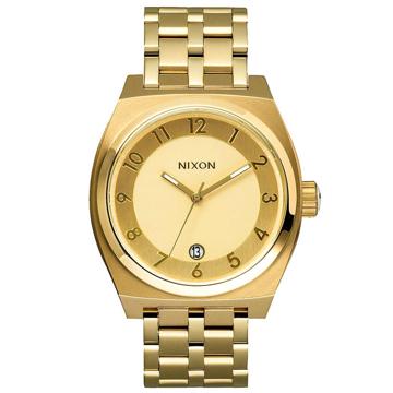 Nixon MONOPOLY ALLGOLD analogové sportovní hodinky - žlutá