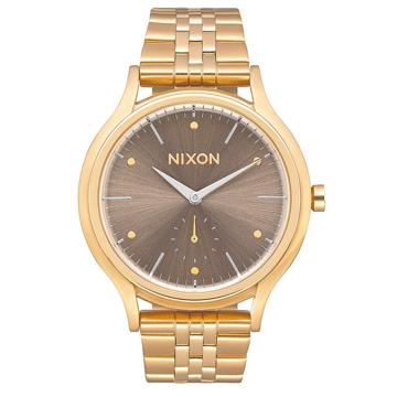 Nixon SALA ALLLIGHTGOLDTAUPE analogové sportovní hodinky - béžová