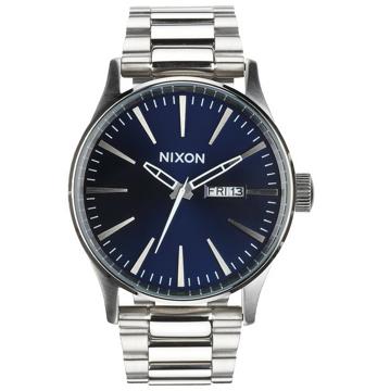 Nixon SENTRY SS BLUESUNRAY analogové sportovní hodinky - šedá