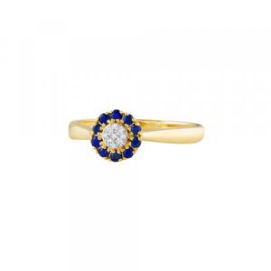 Prsten s brilianty 224-246-4602 53-1.90g