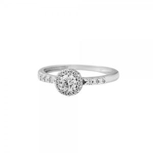 Prsten se syntetickými kameny 326-087-1005 51-1.60g