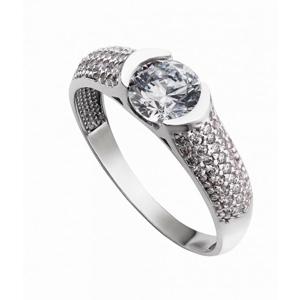 Prsten se syntetickými kameny 326-226-0536 50-3.20g