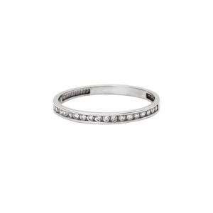 Prsten se syntetickými kameny 326-573-2458 53-1.10g