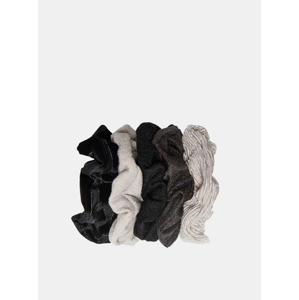 Sada pěti gumiček do vlasů v dárkovém balení ONLY