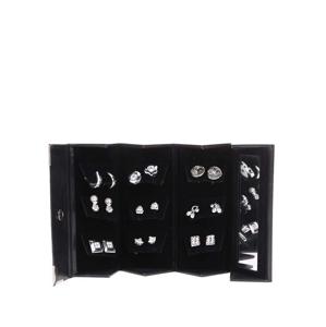 Set náušnic stříbrné barvy Pierre Cardin