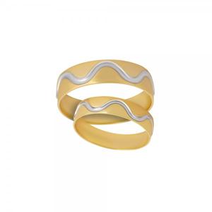 Snubní prsteny 220-063-A1122 2.30g