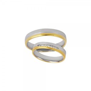 Snubní prsteny 220-063-P122 3.85g