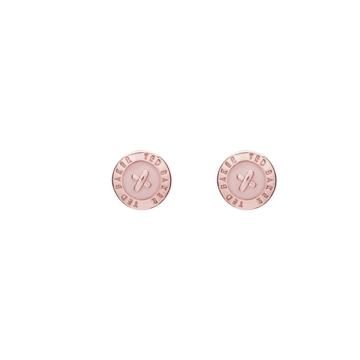 Ted Baker Náušnice 'Eisley' růžově zlatá / růžová