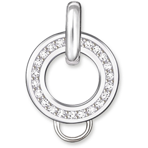 Thomas Sabo Stříbrný kroužek na přívěsky X0018-051-14