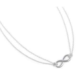 Tiffany & Co. Luxusní stříbrný náhrdelník Nekonečno 26758432 + originální balení