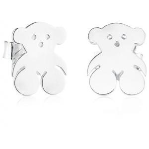Tous Stříbrné náušnice s medvídkem 911142070