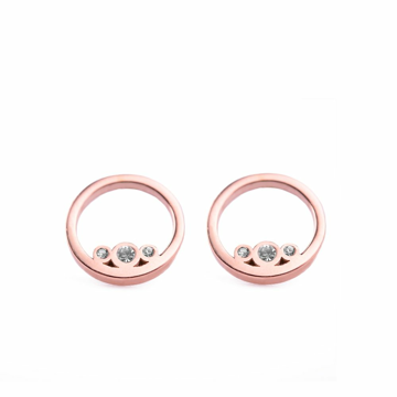 Vuch náušnice Ringy Rose Gold - ONE SIZE
