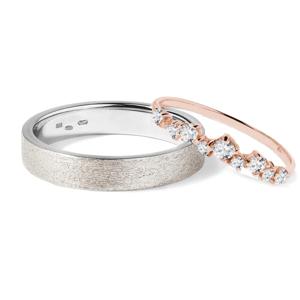 Zlaté snubní prsteny KLENOTA